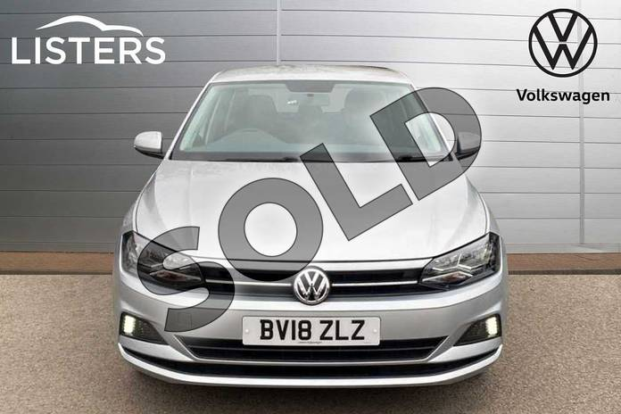 Image seven of this 2018 Volkswagen Polo Hatchback 1.0 TSI 95 SE 5dr in Reflex silver at Listers Volkswagen Coventry