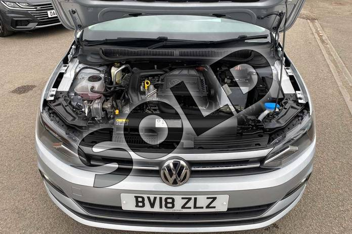Image nine of this 2018 Volkswagen Polo Hatchback 1.0 TSI 95 SE 5dr in Reflex silver at Listers Volkswagen Coventry