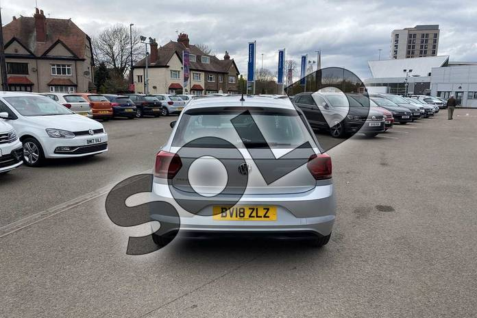 Image eleven of this 2018 Volkswagen Polo Hatchback 1.0 TSI 95 SE 5dr in Reflex silver at Listers Volkswagen Coventry