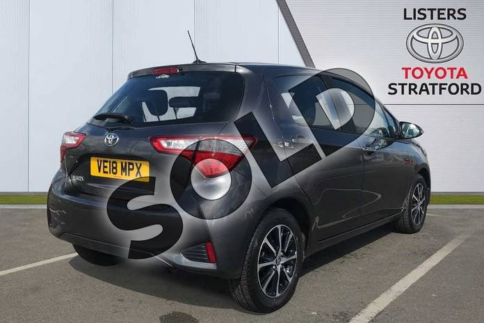 Image two of this 2018 Toyota Yaris Hatchback 1.5 VVT-i Icon Tech 5dr in Grey at Listers Toyota Stratford-upon-Avon