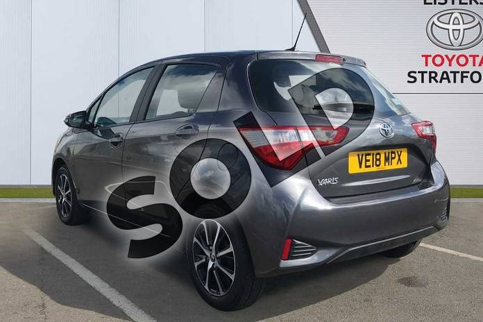 Image four of this 2018 Toyota Yaris Hatchback 1.5 VVT-i Icon Tech 5dr in Grey at Listers Toyota Stratford-upon-Avon