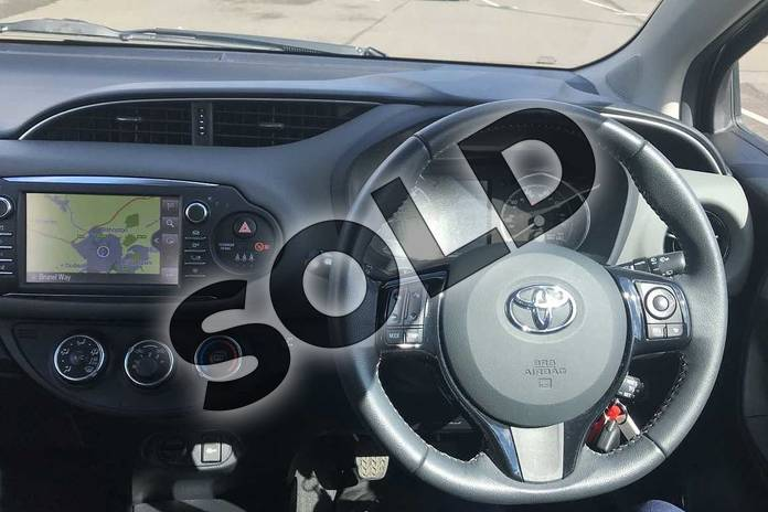 Image six of this 2018 Toyota Yaris Hatchback 1.5 VVT-i Icon Tech 5dr in Grey at Listers Toyota Stratford-upon-Avon