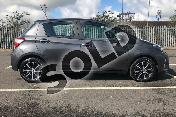 Image sixteen of this 2018 Toyota Yaris Hatchback 1.5 VVT-i Icon Tech 5dr in Grey at Listers Toyota Stratford-upon-Avon