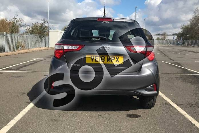 Image nineteen of this 2018 Toyota Yaris Hatchback 1.5 VVT-i Icon Tech 5dr in Grey at Listers Toyota Stratford-upon-Avon