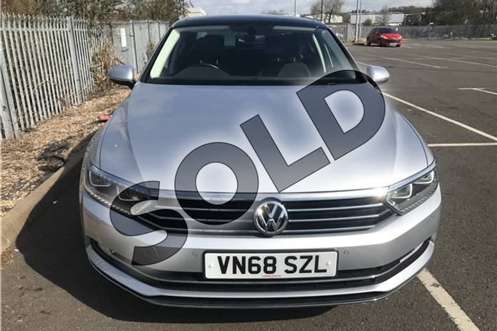 Image three of this 2018 Volkswagen Passat Diesel Saloon 2.0 TDI GT 4dr (Panoramic Roof) in Metallic - Reflex silver at Listers Toyota Stratford-upon-Avon