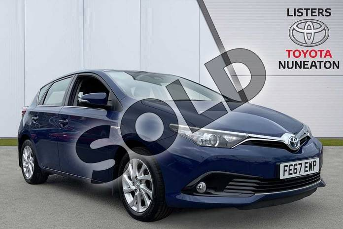 Picture of Toyota Auris 1.8 Hybrid Business Edition TSS 5dr CVT in Blue