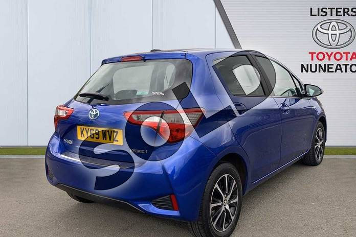 Image two of this 2019 Toyota Yaris Hatchback 1.5 Hybrid Icon Tech 5dr CVT in Blue at Listers Toyota Nuneaton