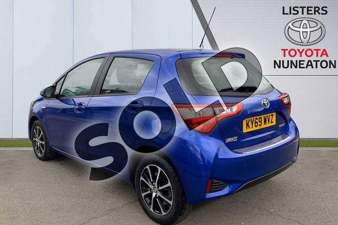Image four of this 2019 Toyota Yaris Hatchback 1.5 Hybrid Icon Tech 5dr CVT in Blue at Listers Toyota Nuneaton