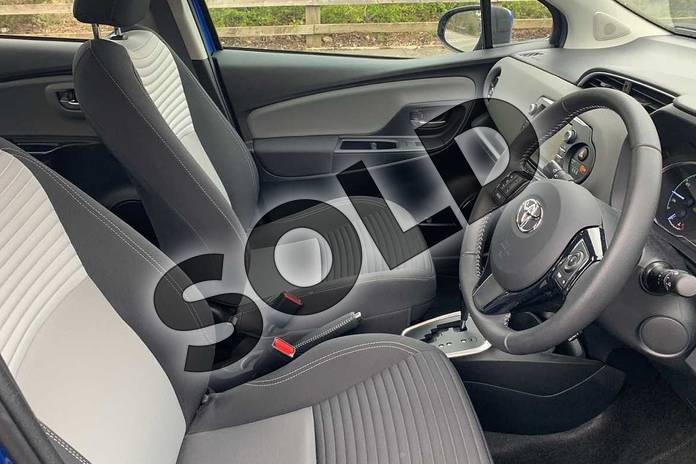 Image eleven of this 2019 Toyota Yaris Hatchback 1.5 Hybrid Icon Tech 5dr CVT in Blue at Listers Toyota Nuneaton