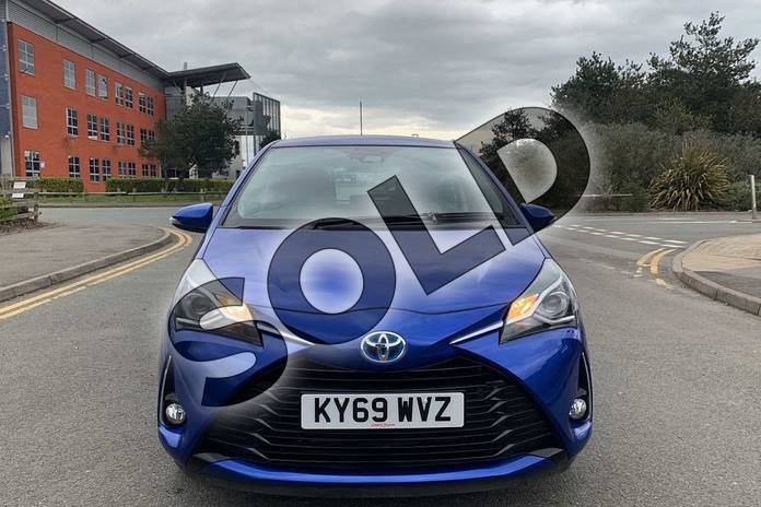 Image fifteen of this 2019 Toyota Yaris Hatchback 1.5 Hybrid Icon Tech 5dr CVT in Blue at Listers Toyota Nuneaton