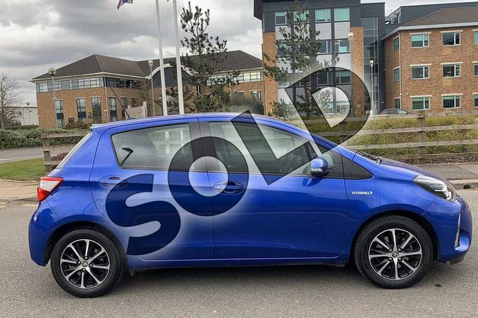 Image sixteen of this 2019 Toyota Yaris Hatchback 1.5 Hybrid Icon Tech 5dr CVT in Blue at Listers Toyota Nuneaton