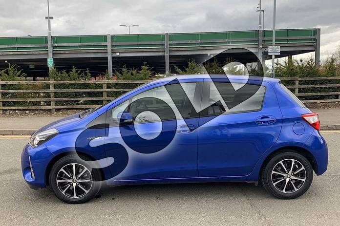 Image seventeen of this 2019 Toyota Yaris Hatchback 1.5 Hybrid Icon Tech 5dr CVT in Blue at Listers Toyota Nuneaton