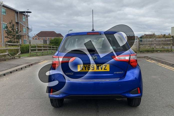Image nineteen of this 2019 Toyota Yaris Hatchback 1.5 Hybrid Icon Tech 5dr CVT in Blue at Listers Toyota Nuneaton