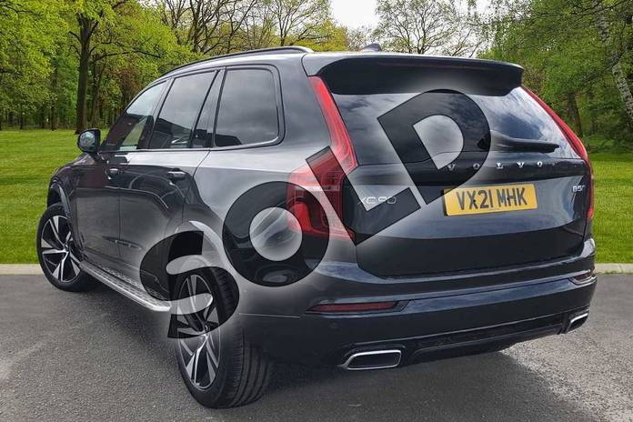 Image two of this 2021 Volvo XC90 Estate 2.0 B5P (250) R DESIGN 5dr AWD Gtron in Savile Grey at Listers Volvo Worcester