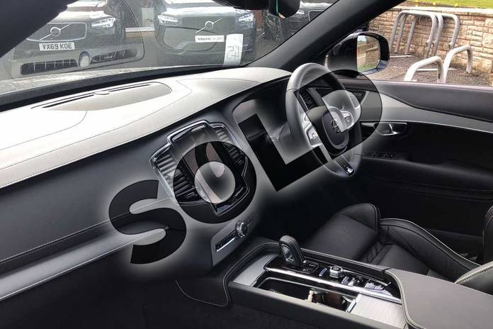 Image three of this 2021 Volvo XC90 Estate 2.0 B5P (250) R DESIGN 5dr AWD Gtron in Savile Grey at Listers Volvo Worcester