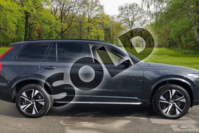 Image four of this 2021 Volvo XC90 Estate 2.0 B5P (250) R DESIGN 5dr AWD Gtron in Savile Grey at Listers Volvo Worcester