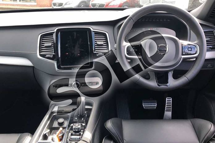 Image six of this 2021 Volvo XC90 Estate 2.0 B5P (250) R DESIGN 5dr AWD Gtron in Savile Grey at Listers Volvo Worcester