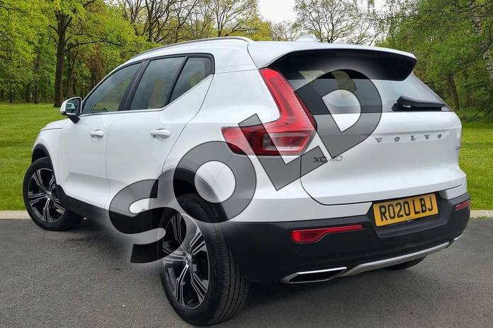 Image two of this 2020 Volvo XC40 Estate 1.5 T3 (163) Inscription Pro 5dr in Crystal White at Listers Volvo Worcester