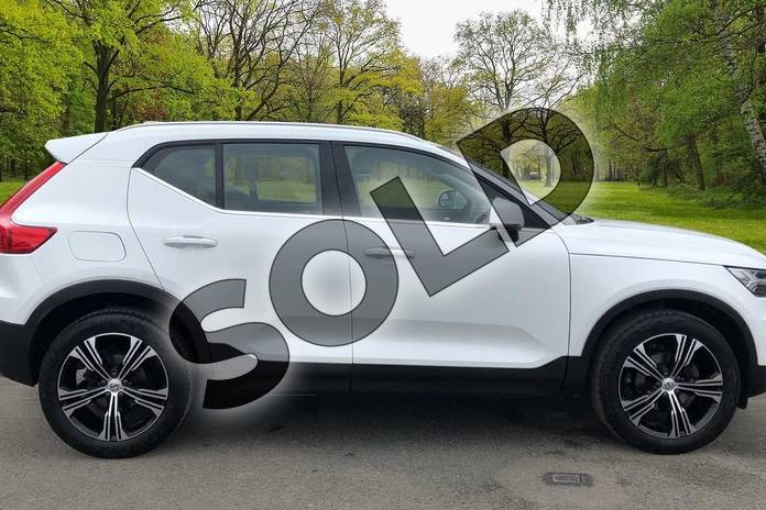 Image four of this 2020 Volvo XC40 Estate 1.5 T3 (163) Inscription Pro 5dr in Crystal White at Listers Volvo Worcester