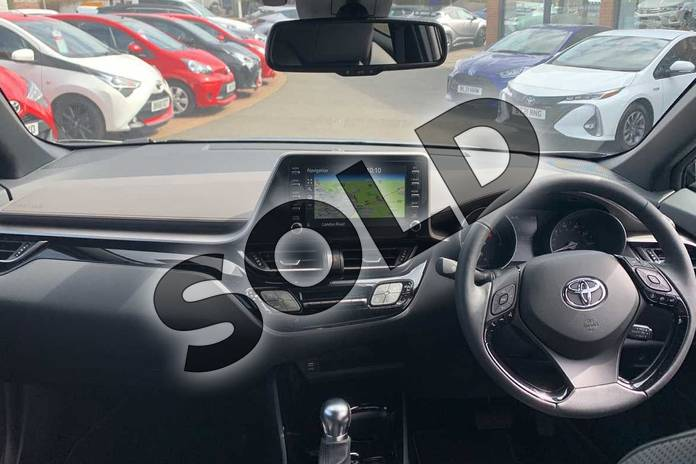 Image five of this 2021 Toyota C-HR Hatchback 1.8 Hybrid Excel 5dr CVT in Black at Listers Toyota Coventry