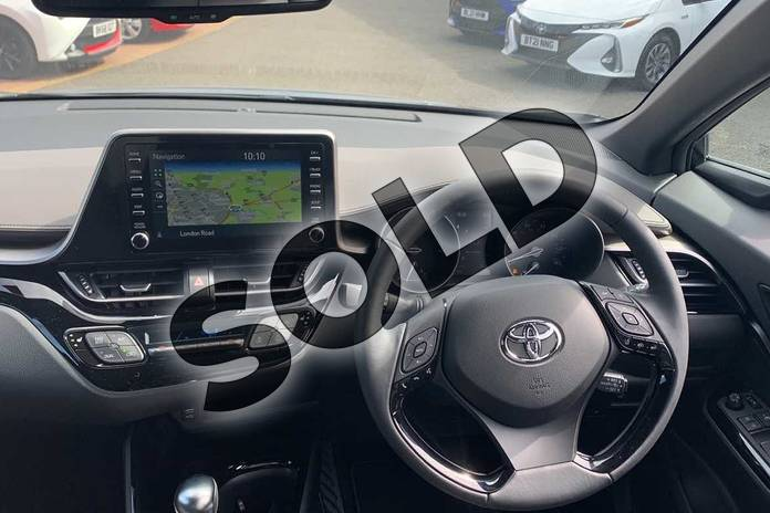 Image six of this 2021 Toyota C-HR Hatchback 1.8 Hybrid Excel 5dr CVT in Black at Listers Toyota Coventry