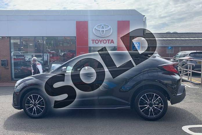 Image seventeen of this 2021 Toyota C-HR Hatchback 1.8 Hybrid Excel 5dr CVT in Black at Listers Toyota Coventry
