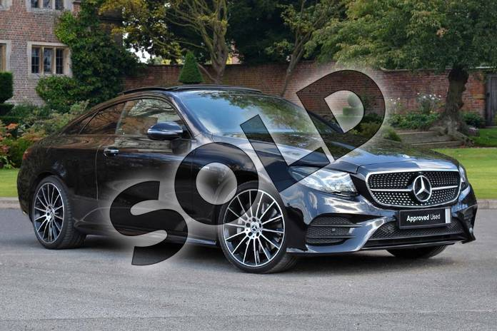 Picture of Mercedes-Benz E Class E400d 4Matic AMG Line Premium Plus 2dr 9G-Tronic in obsidian black metallic