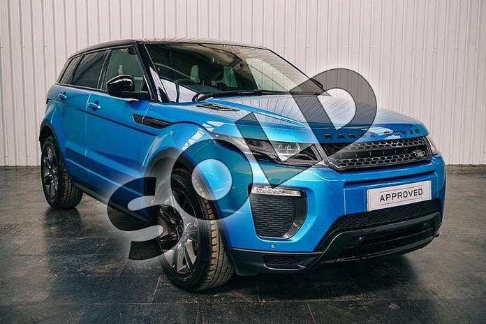 2018 Range Rover Evoque Hatchback Special Edition 2.0 TD4 Landmark 5dr Auto in Moraine Blue at Listers Land Rover Solihull
