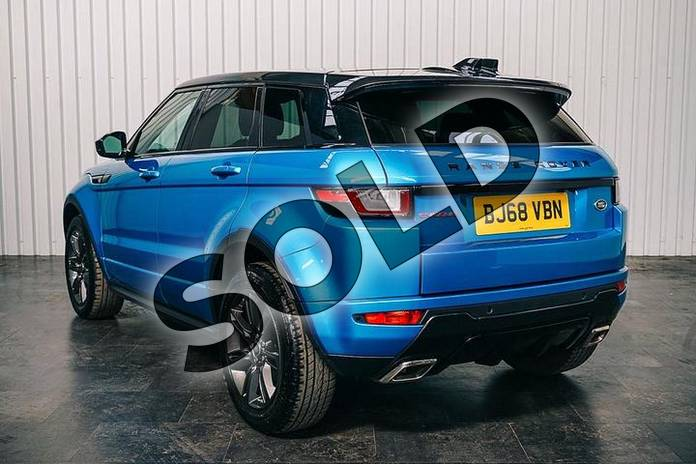 Image two of this 2018 Range Rover Evoque Hatchback Special Edition 2.0 TD4 Landmark 5dr Auto in Moraine Blue at Listers Land Rover Solihull