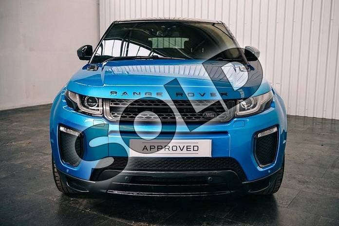 Image seven of this 2018 Range Rover Evoque Hatchback Special Edition 2.0 TD4 Landmark 5dr Auto in Moraine Blue at Listers Land Rover Solihull