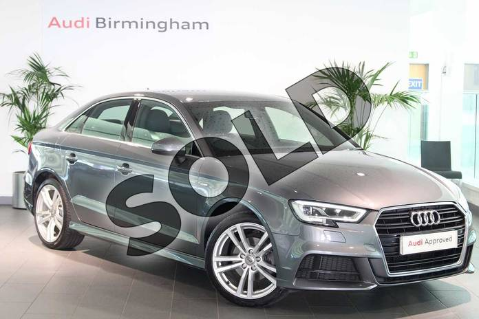 Picture of Audi A3 1.5 TFSI S Line 4dr in Monsoon Grey Metallic