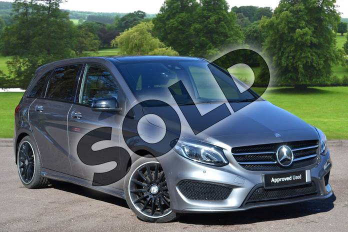 Picture of Mercedes-Benz B Class B200d AMG Line Premium Plus 5dr Auto in mountain grey metallic
