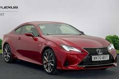 Used Lexus RC Cars